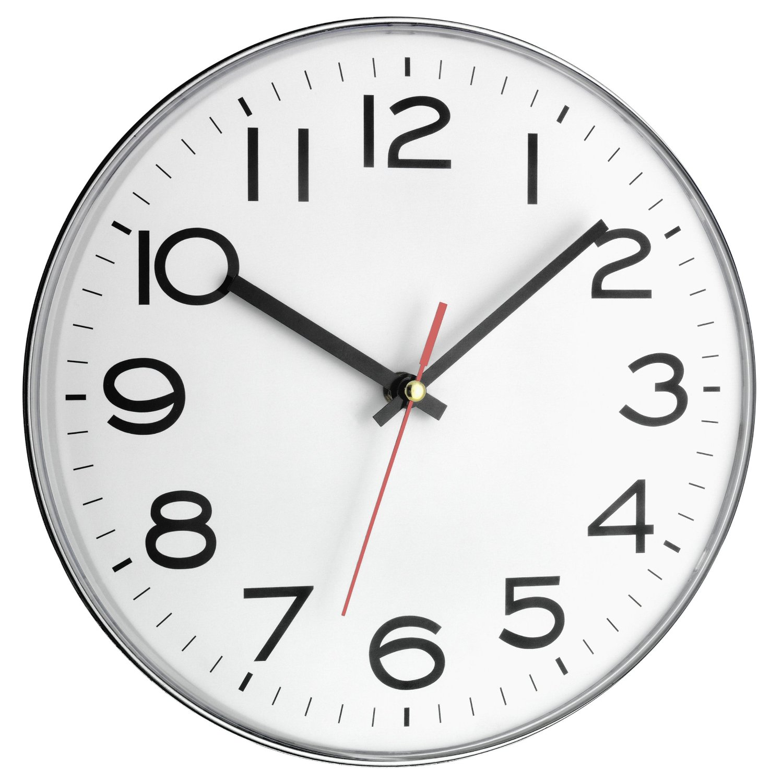 Tfa reloj de pared extraplano chulazo de chollazo - Relojes de pared diseno ...